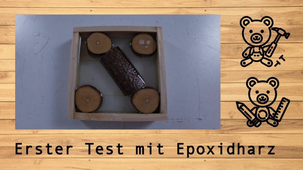 Erster Test mit Epoxidharz @derwerkbaer